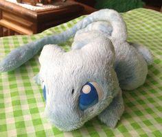 Shiny Mew  Handmade plush by Piquipauparro on Etsy, $235.00