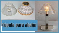 JL Dicas E Tutoriais: Como Fazer Cúpula Para Abajur Make A Lampshade, Dollar Stores, Decoration, Decoupage, Diy Projects, Make It Yourself, Lighting, Crafts, Design