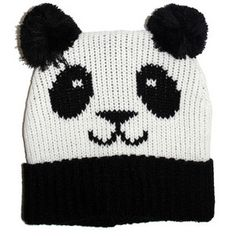hooray, I have been looking for this! > Kids Hats - Okutani Panda Knit Hat