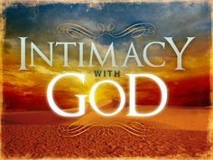 "God has invested the life of His very own Son to break down the barriers between Himself and mankind. He's placed within you a desire for intimacy that no man, woman, drug, or vice can fill. Go to: http://faithsmessenger.com/intimacy-beyond-measure/ to read the article ""Intimacy Beyond Measure – God's Quest for Renewed Fellowship"