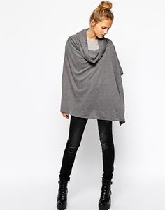 BUY THIS ONE THING: Esprit Jersey Poncho