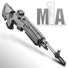 Springfield M1A Rifle