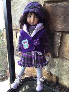 ~WHAT A HOOT! by Tuula fits 13  Effner Little Darling to a  t !