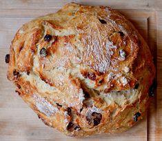 Easy Peasy Rustic Bread and Rustic Cranberry Orange bread Dutch Oven Bread, Dutch Oven Recipes, Cooking Recipes, Healthy Recipes, Artisan Bread Recipes, Yeast Bread Recipes, Oven Cooking, Yeast For Bread, Cornbread Recipes