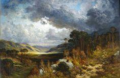 Gustave Dore, Souvenir of Loch Lomond, 1875. Oil on canvas.