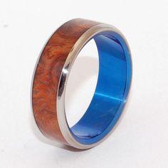 Spacious skies    Minter + Richter   Unique Wedding Rings - Titanium Rings   Titanium Rings   Minter + Richter
