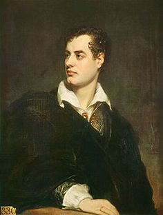 George Gordon Byron, 6th Baron Byron, commonly known simply as Lord Byron, was a British poet and a leading figure in the Romantic movement. He is regarded as one of the greatest British poets and remains widely read and influential. Byron was celebrated in life for aristocratic excesses including huge debts, numerous love affairs, rumours of a scandalous incestuous liaison with his half-sister, and self-imposed exile.