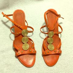 3d167ed8a3d4 Nine West Orange Sandals - 7.5 Nine West Orange Sandals - 7.5 Nine West  Shoes Sandals. Clarks ...