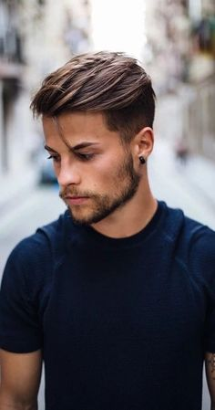 Man haircut Haircuts for men, Mens hairstyles, Hair cuts, Hair and beard styles, Top hairstyles - New Men& Hairstyles For 2019 - Hipster Hairstyles Men, Mens Hairstyles 2018, Cool Mens Haircuts, Cool Hairstyles For Men, Undercut Hairstyles, Boy Hairstyles, Popular Haircuts, Short Haircuts, Fashion Hairstyles