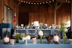 winter centerpiece | Courtney Dox #wedding