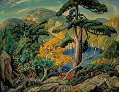 "The Group of Seven Arthur Lismer ""Bright Land"""