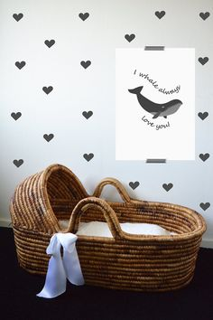 I whale always love you Whale Poster Nautical by LetuvePosters