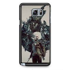 Witcher 3 Wild Hunt Geralt TATUM-11964 Samsung Phonecase Cover Samsung Galaxy Note 2 Note 3 Note 4 Note 5 Note Edge