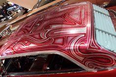 Custom Car Paint Jobs, Auto Paint, Custom Cars, Painted Trunk, Roof Paint, Real Steel, Impalas, Power Wheels, Low Life
