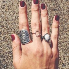 Brandy Melville Jewelry - Brandy Melville Silver Tear Drop Ring