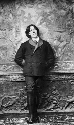 Oscar Wilde (1854-00), Irish author, playwright and poet most known for his novel, The Picture of Dorian Gray and for his arrest. After accusing the Marquess of Queensbury of libel, a trial ensued--the Marquess offered male prostitutes to testify they had had sex with Wilde. Wilde dropped the charges, was arrested for sodomy. He was convicted and imprisoned where he had a spiritual awakening, was finally released and baptized into the Catholic church before his death from meningitis.