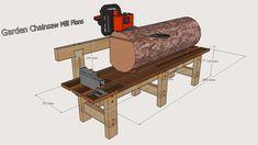 Garden Chainsaw Mill Plans