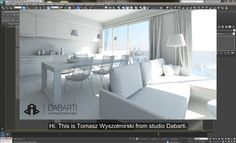 Universal V-Ray Interior Settings - Linear workflow (LWF) - Dabarti CGI Studio