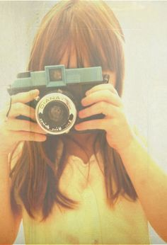 vintage-y girl