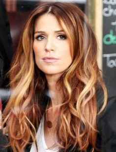 Beauty Trends - Red & fabulous hair (Poppy Montgomery)