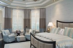 Don't be blind to the possibility of shutters! (or curtains) https://www.housetrends.com/room/its-curtains-for-you-or-maybe-blinds-shutters-shad #housetrends #windowtreatments