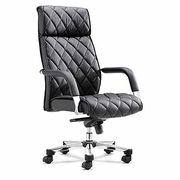 Zuo Modern Regal Office Chair Black, Faux Leather