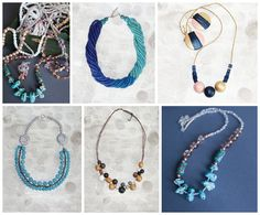 #Xmaslist #Xmasshopping #fashion #necklace #gemstone #giftforher #etsylove #handmade #style #giftforwife #statement  https://www.etsy.com/shop/Myartspace?section_id=11583861