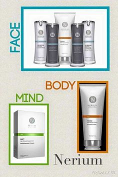 Now your face, body, and mind can reflect your youth with Nerium's product line! Check out these exclusive one-of-a-kind products here: http://dmcarrere.nerium.com 30 day money back