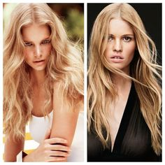 Light and Buttery Macadamia Blonde  Section out a horseshoe of hair from the top of the head. Below this section apply formula 1 in well-spaced slices, with the great concentration of foils closest to the face. Apply formula 2 to the root area and formula 3 to the ends. Time for 30 minutes. Tone with formula 4 for 5-10 minutes.  (on natural level 7)  1: Oxycur Platin with 10 Vol  2: 1 part 8A + 2 parts 8NA + 1 part 8KN with 20 Vol  3: 3 parts 8NA + 1 part 8KN with 30 Vol  4: Colorance 10N…