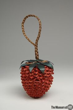 People and Brands:  Designer: Mary Wright    Medium: Wood and natural straw  Date: c.1940  Country: USA