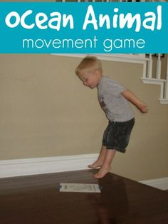 Toddler Approved!: Ocean Animal Movements with downloadable PDFs