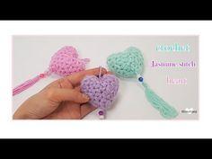 (코바늘 하트뜨기)/자스민 스티치/how to a crochet Jasmine stitch heart(Eng sub)ポイントスター. Crochet Mandala, Crochet Flowers, Loom Knitting Patterns, Crochet Patterns, Cosas American Girl, Yarn Thread, Yarn Crafts, Diy And Crafts, Crochet Diagram