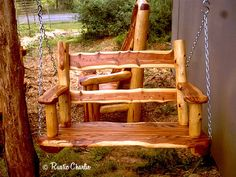 Handmade Rustic Furniture Lodge Cabin Furniture Log Furniture at Rusticcharlie Cedar Furniture, Rustic Log Furniture, Log Cabin Furniture, Rustic Chair, Handmade Furniture, Rustic Wood, Rustic Decor, Furniture Plans, Rustic Hutch