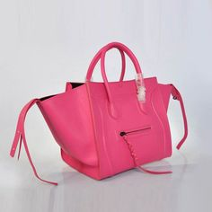 Fashion Celine Classic 306 Ladies Cow Leather Pink 2 #womensbags