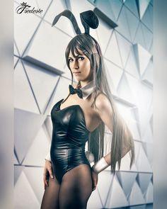 Mai Sakurajima (Rascal Does Not Dream of Bunny Girl Senpai) Mai Sakurajima, Bunny, Bodysuit, Cosplay, Photo And Video, Instagram, Women, Fashion, Rabbit