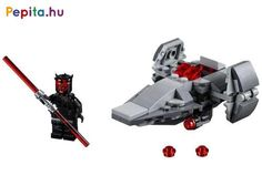 Bring a smile to any LEGO® Star Wars™ fan with Darth Maul's Sith Infiltrator Microfighter with firing stud shooters Star Wars Sith, Lego Star Wars, Return Of The Sith, Free Lego, Lego System, Lego Store, Darth Maul, Lego Creator, Obi Wan