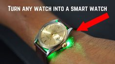 Turn Your Rolex Into A Smartwatch