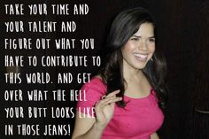 America Ferrera.   29 Celebrities Who Will Actually Make You Feel Good About Your Body