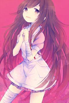 tsumiki mikan dangan ronpa mikan!! Como la de gakuen Alice!!