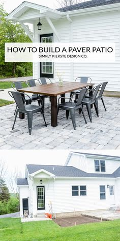 A DIY Paver Patio is