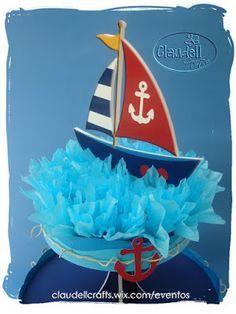 fiesta nautica - Buscar con Google Sailor Baby Showers, 2nd Baby Showers, Baby Shower Parties, Baby Shower Themes, Baby Boy Shower, Nautical Birthday Cakes, Nautical Party, Nautical Wedding, Baby Showers Marinero