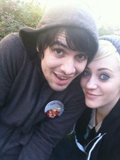 brendon & Sarah (Me): SARAH WAS QA BLONDE?!?! Never seen her like that in my life!