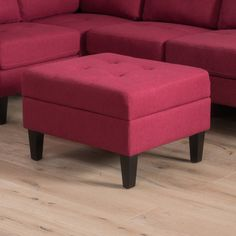 Zahra Tufted Storage Ottoman by Christopher Knight Home