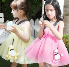 kids pink and yellow dress,21usd for 2-7years old  go here to buy it  https://www.wish.com/c/53b11eb1d9113919df631ca9