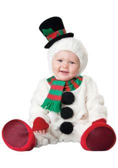 Baby Schneemann Kostüm ca 17 € | Kostüm Idee zu Weihnachten