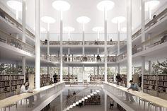 Biblioteca Pública Daegu Gosan – 3° Lugar | concursosdeprojeto.org