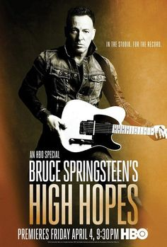 Bruce Springsteen - High Hopes Promo Poster - Mini Print