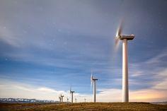Wind turbines, Canada