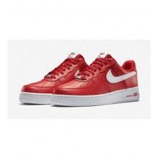 free shipping 134a1 0632b Nike Pánské - Horky Nike Air Force 1 Low Pánské Běžecké Boty Červené Bílý  0306