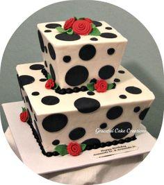 Black+and+White+Birthday+Cakes | Black and White Birthday Cake | Flickr - Photo Sharing!
